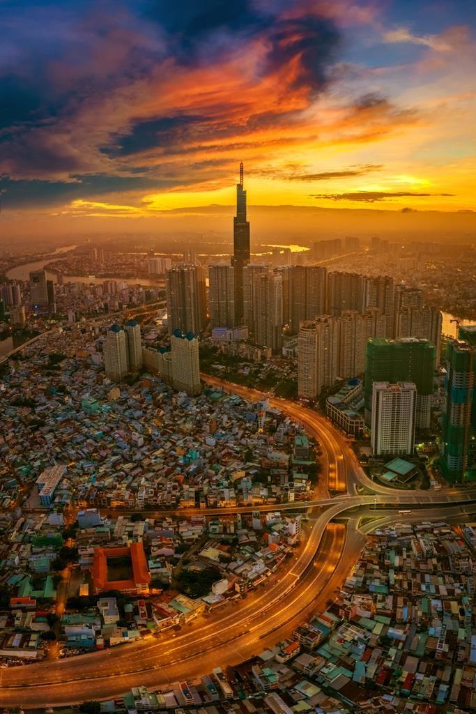 Đẹp mê hồn cảnh sắc Việt Nam nhìn từ trên cao ảnh 2