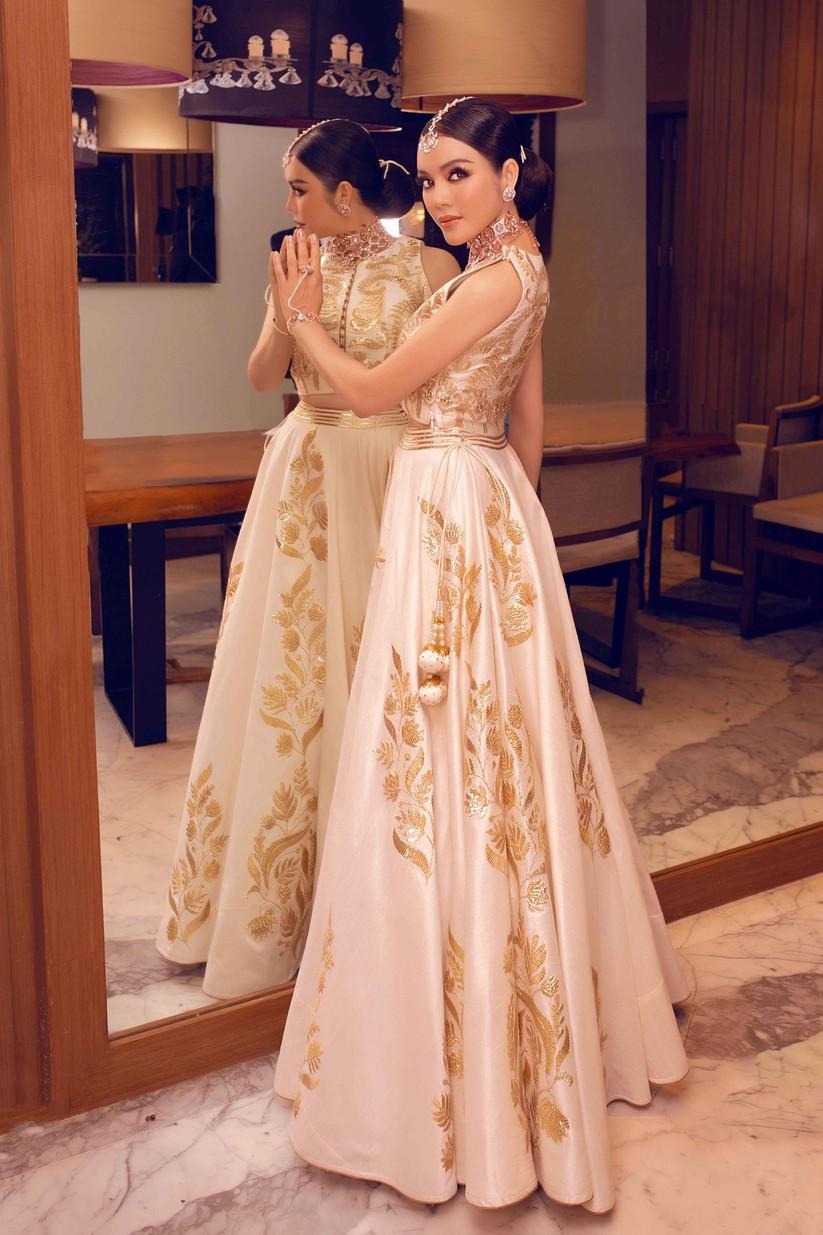 Lý Nhã Kỳ hóa công chúa dự sinh nhật xa hoa của tỉ phú Ấn Độ ảnh 3