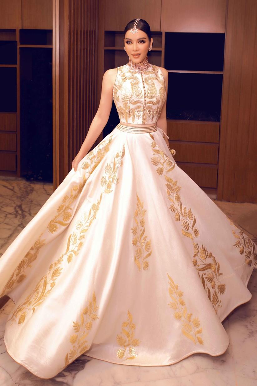 Lý Nhã Kỳ hóa công chúa dự sinh nhật xa hoa của tỉ phú Ấn Độ ảnh 10