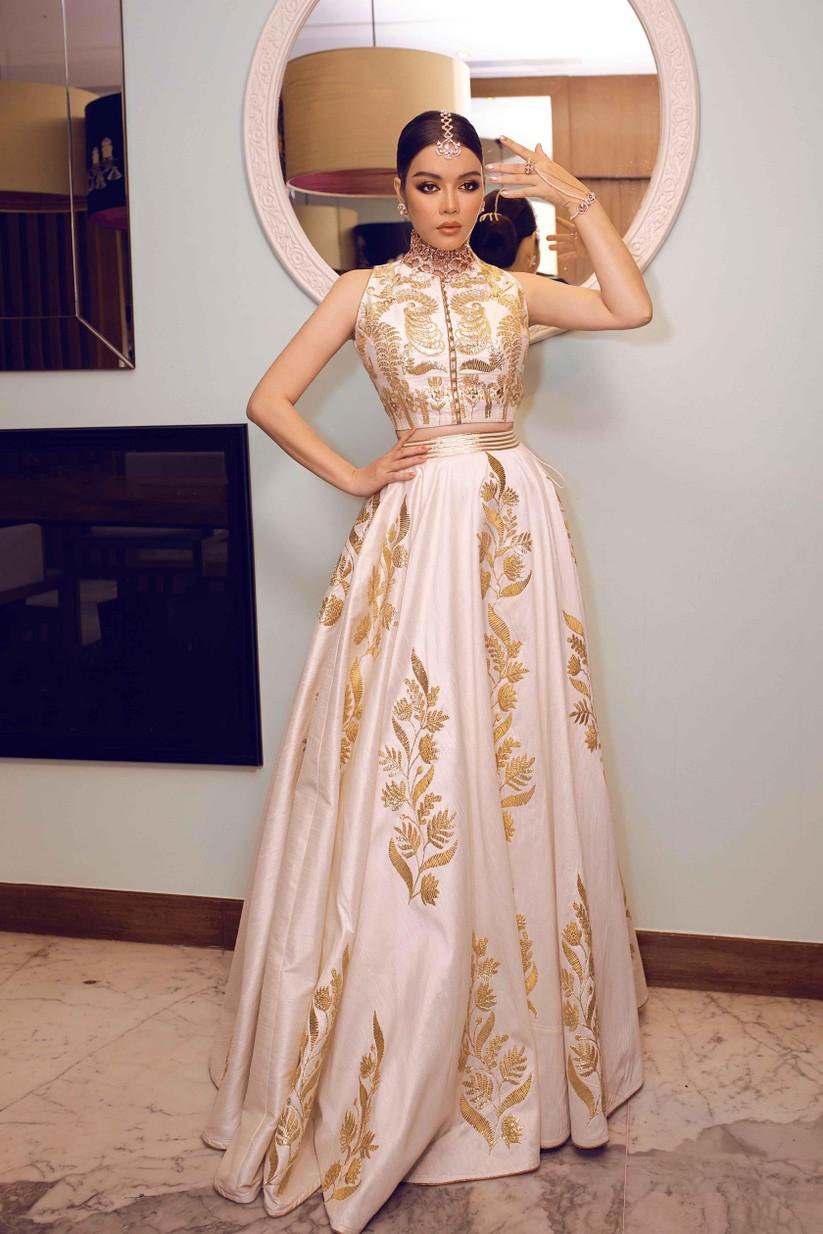 Lý Nhã Kỳ hóa công chúa dự sinh nhật xa hoa của tỉ phú Ấn Độ ảnh 9