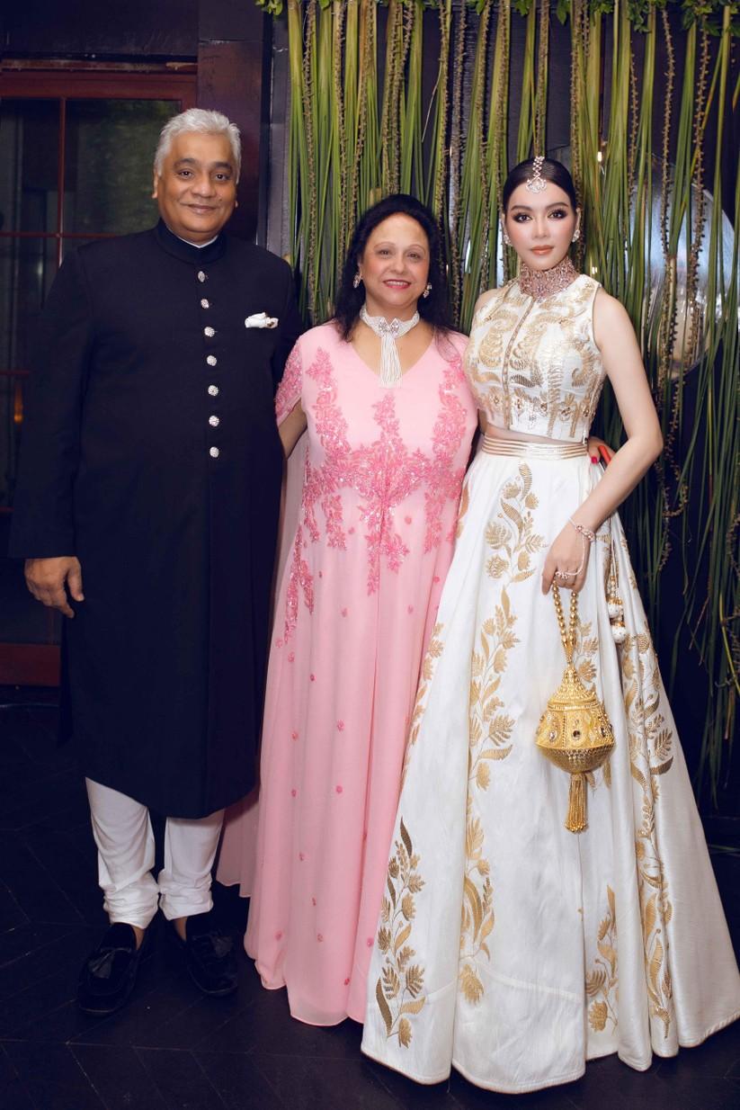 Lý Nhã Kỳ hóa công chúa dự sinh nhật xa hoa của tỉ phú Ấn Độ ảnh 4