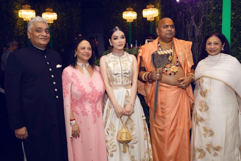Lý Nhã Kỳ hóa công chúa dự sinh nhật xa hoa của tỉ phú Ấn Độ ảnh 6