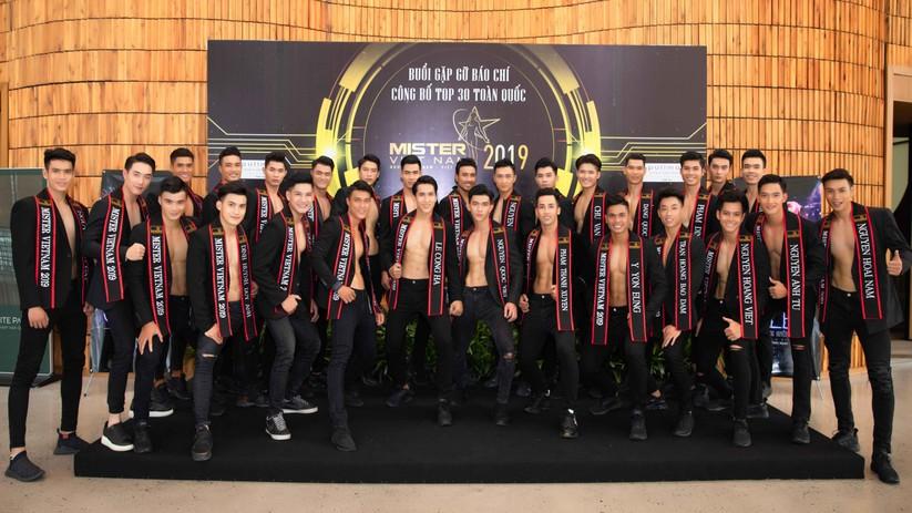 """Lộ diện top 30 """"mỹ nam"""" hot nhất Mister Vietnam 2019 ảnh 1"""