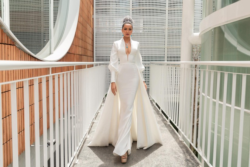 Nóng bỏng phần thi bikini Hoa hậu Hoàn vũ VN 2019 ảnh 7