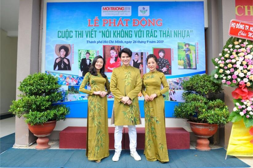 """Hoa hậu Hà Kiều Anh, Thúy Nga và các nghệ sỹ """"Nói không với rác thải nhựa"""" ảnh 1"""