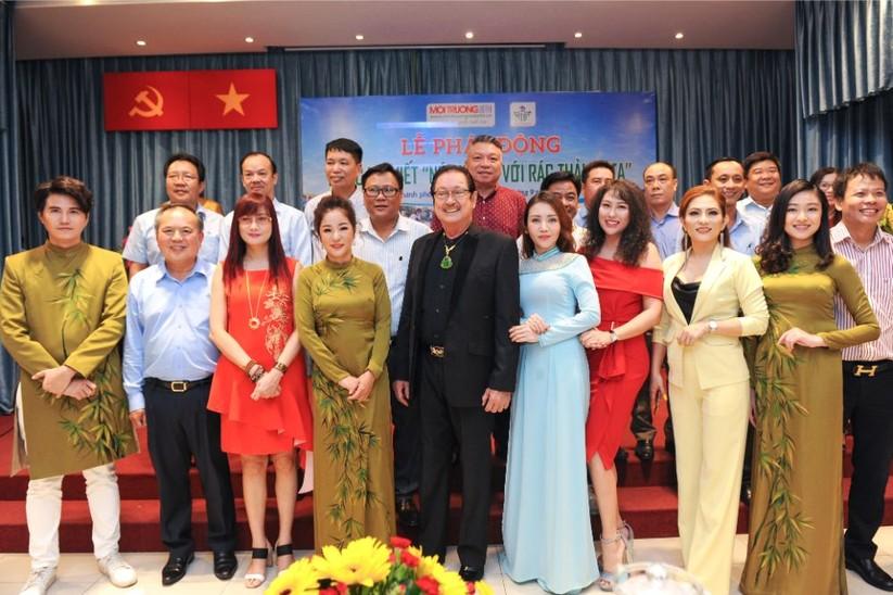 """Hoa hậu Hà Kiều Anh, Thúy Nga và các nghệ sỹ """"Nói không với rác thải nhựa"""" ảnh 9"""