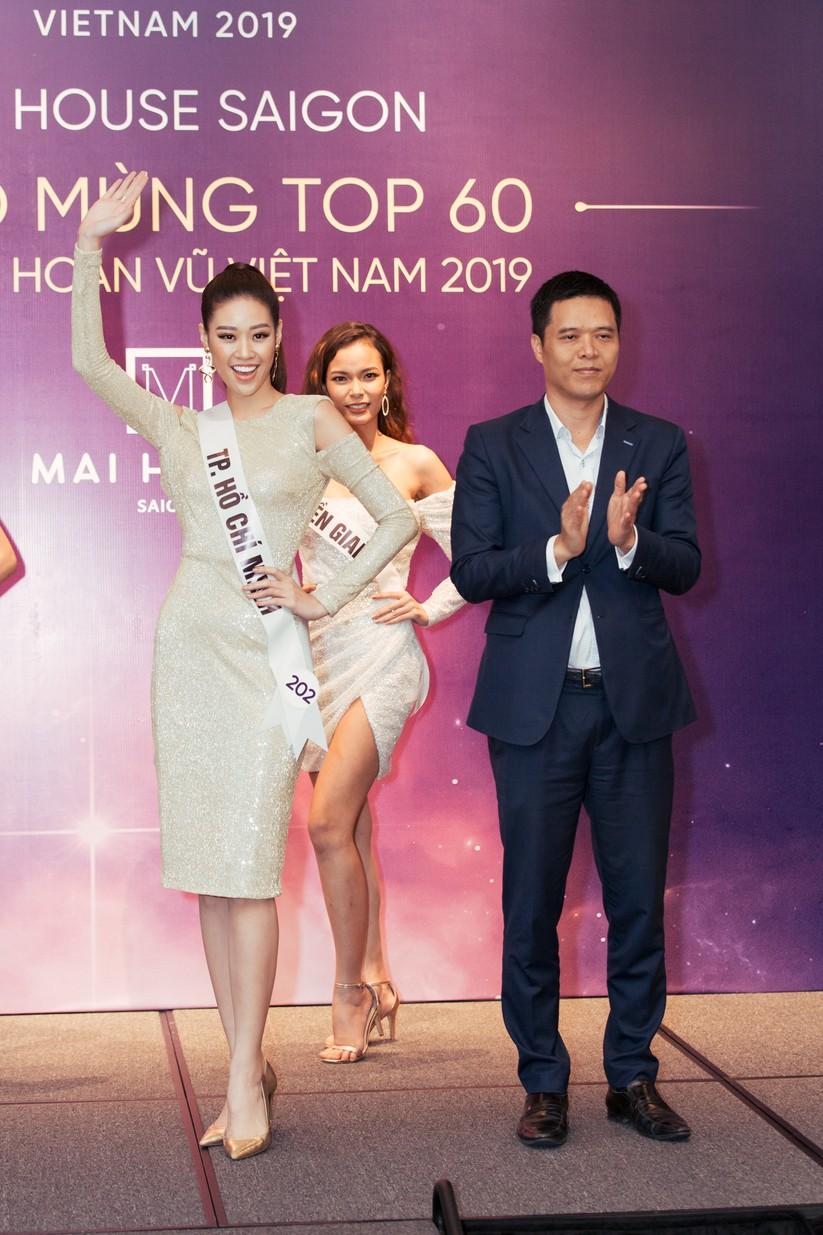 Hoa hậu H'Hen Niê khác lạ với tóc rất dài đua sắc cùng thí sinh Hoa hậu Hoàn vũ ảnh 7