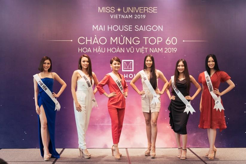 Hoa hậu H'Hen Niê khác lạ với tóc rất dài đua sắc cùng thí sinh Hoa hậu Hoàn vũ ảnh 10