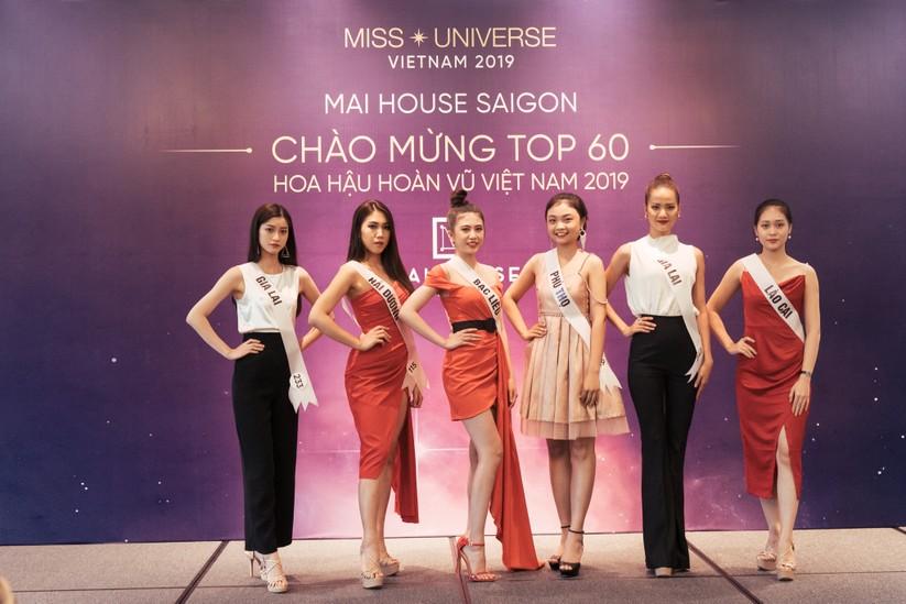 Hoa hậu H'Hen Niê khác lạ với tóc rất dài đua sắc cùng thí sinh Hoa hậu Hoàn vũ ảnh 11