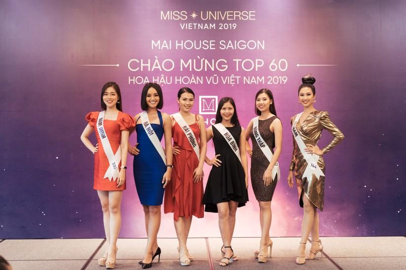 Hoa hậu H'Hen Niê khác lạ với tóc rất dài đua sắc cùng thí sinh Hoa hậu Hoàn vũ ảnh 13