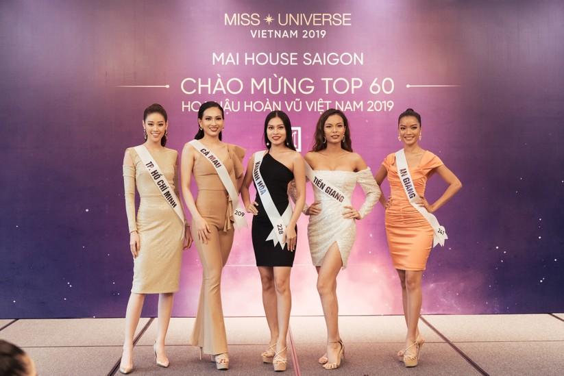 Hoa hậu H'Hen Niê khác lạ với tóc rất dài đua sắc cùng thí sinh Hoa hậu Hoàn vũ ảnh 14