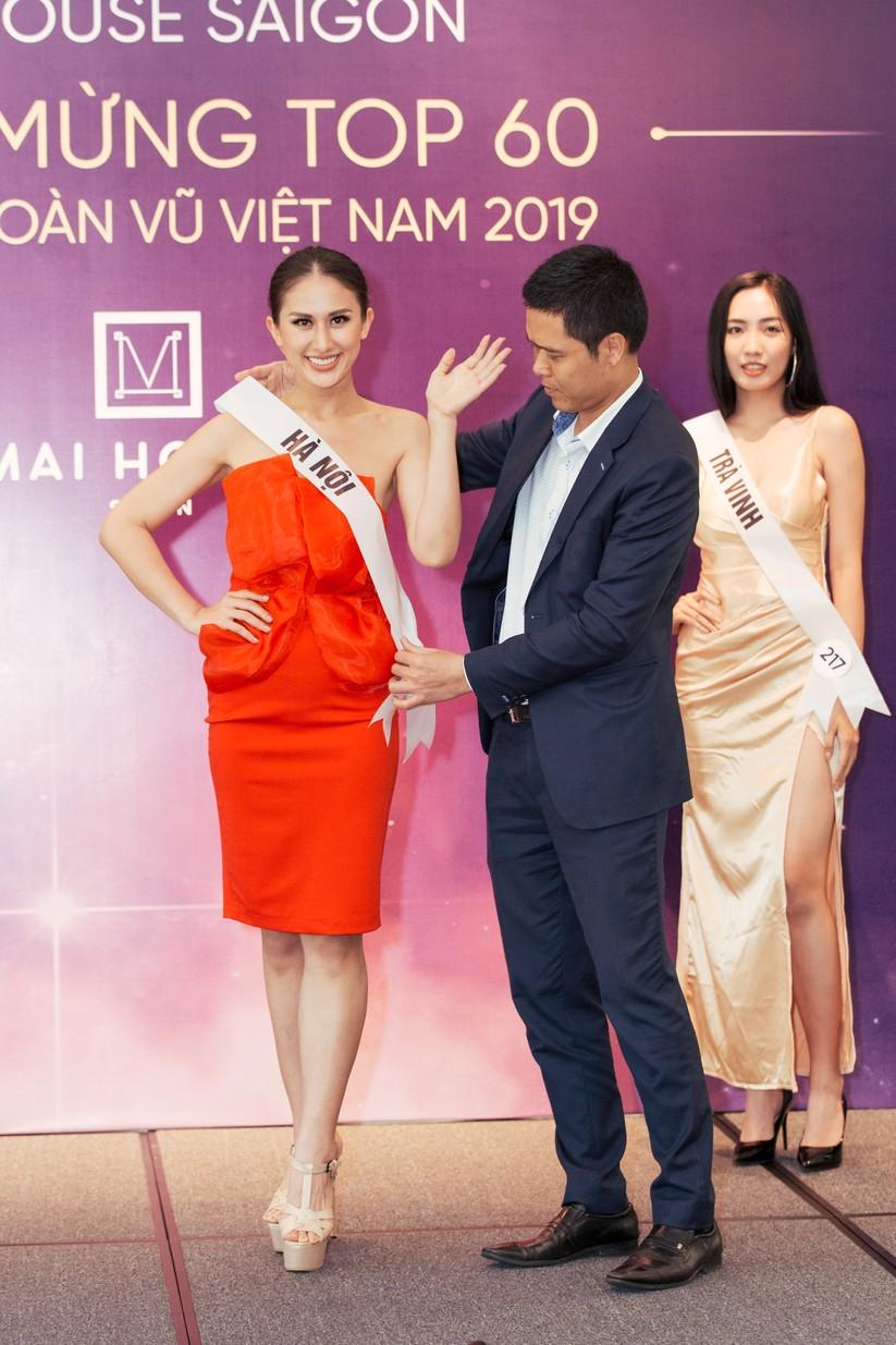 Hoa hậu H'Hen Niê khác lạ với tóc rất dài đua sắc cùng thí sinh Hoa hậu Hoàn vũ ảnh 4