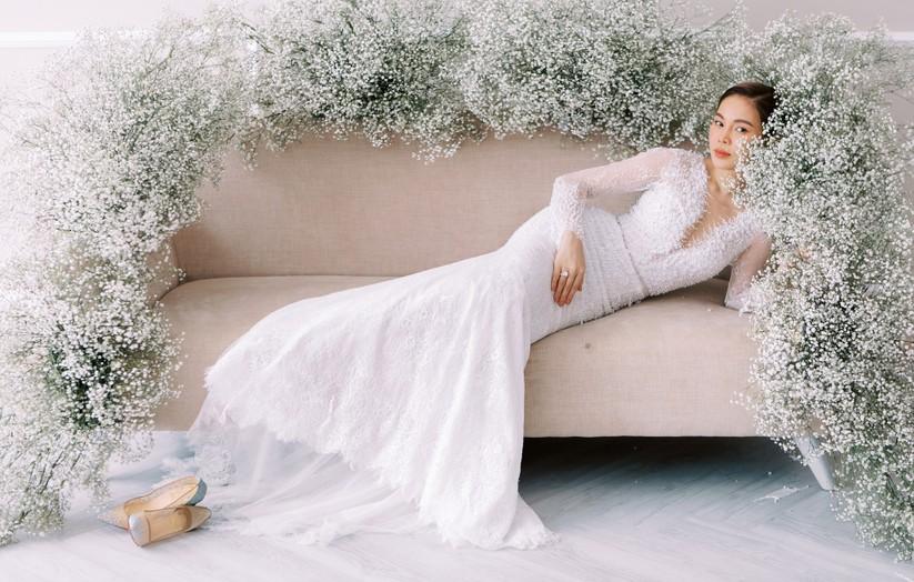 Giang Hồng Ngọc khoe hình cưới cùng chồng và con trai ảnh 5