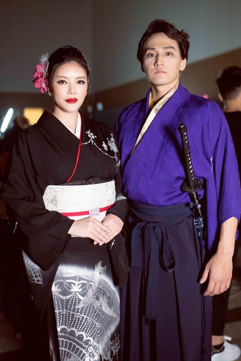 Lý Nhã Kỳ mặc Kimono làm vedette trong show của nhà thiết kế Nhật Bản ảnh 12