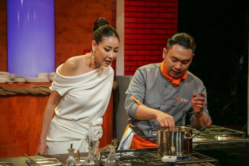 Hoa hậu Hà Kiều Anh làm giám khảo Top Chef Việt Nam ảnh 10