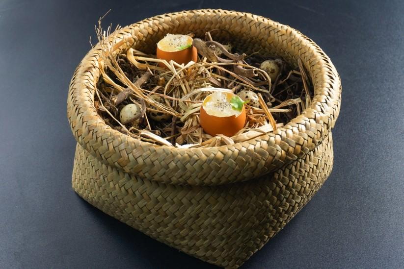 Trứng hấp yến của chef Thành Vương