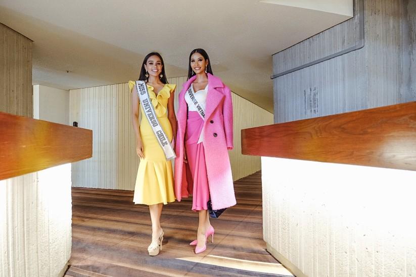 Những hình ảnh đầu tiên của Hoàng Thùy tại Miss Universe 2019 trên đất Mỹ ảnh 15
