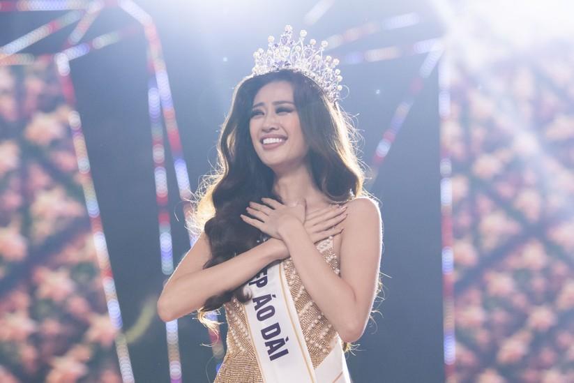 Nguyễn Trần Khánh Vân đã đăng quang ngôi Hoa hậu
