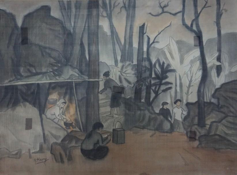Bếp lửa Trường Sơn,1994, Vũ Giáng Hương