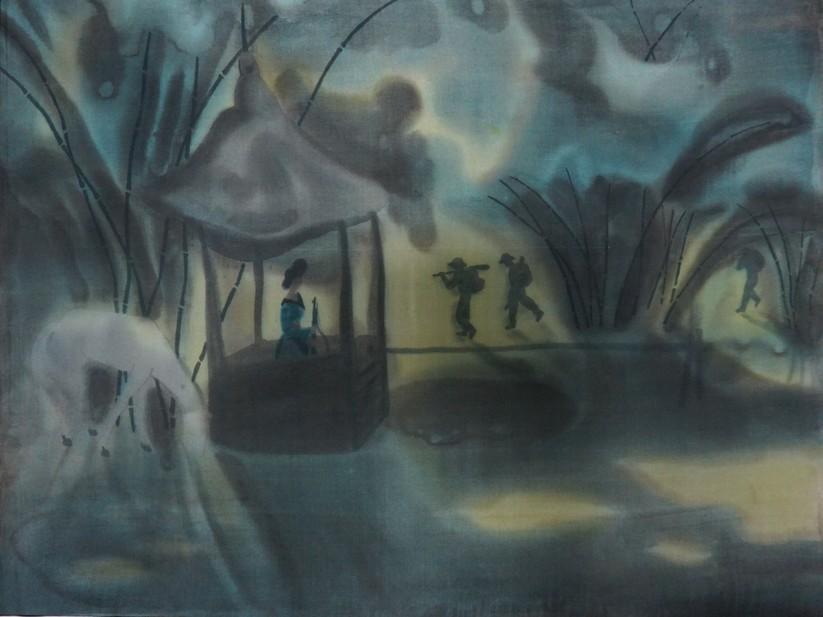 Đêm trăng qua vọng gác, 1979, Mai Long