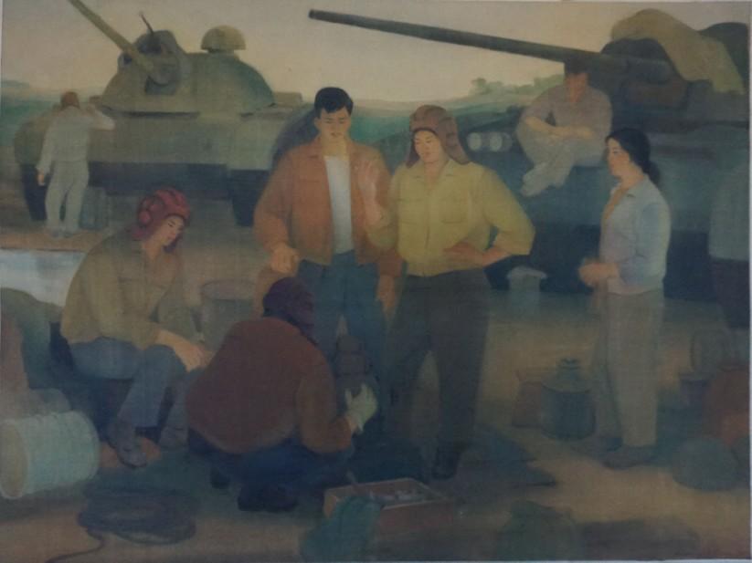 Đơn vị lái xe tăng, 1970, Dương Viên