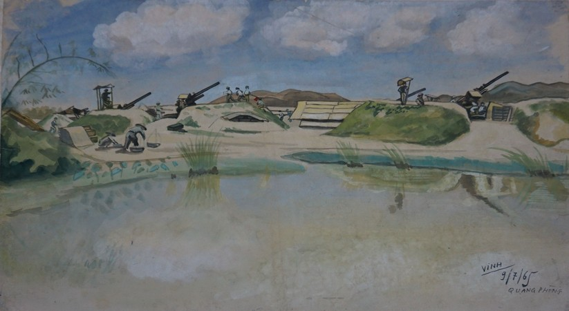 Trận địa pháo, 1965, Quang Phòng