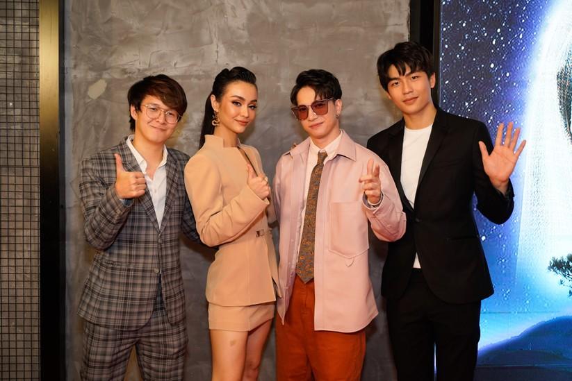 Đạo diễn Vũ Ngọc Phượng, ca sĩ - diễn viên Mlee, ca sĩ ST Sơn Thạch và nam diễn viên Quốc Anh