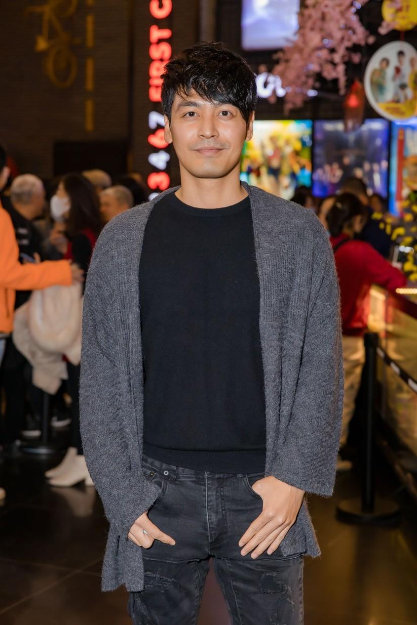 MC Phan Anh cũng có mặt ủng hộ bộ phim