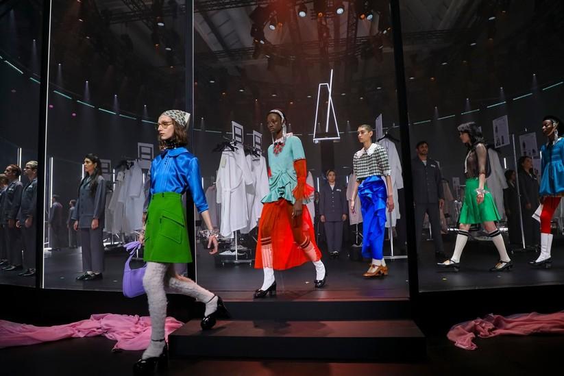 Show thời trang của Gucci (Ảnh: New York Times)
