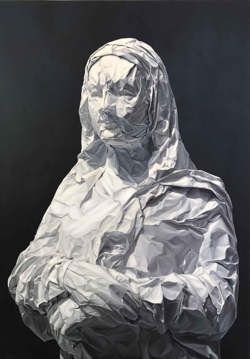 MONA LISA. HS: Võ Thành Thân. CL: Sơn dầu trên canvas KT: 106cm x 154cm. Năm 2019