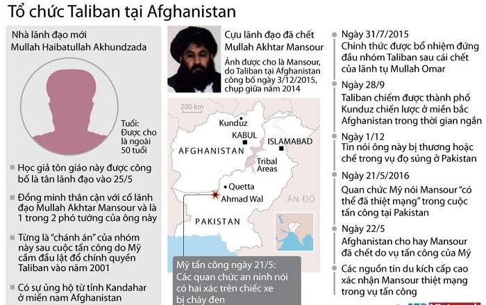 Truy tìm thủ lĩnh mới của Taliban ở Afghanistan ảnh 1