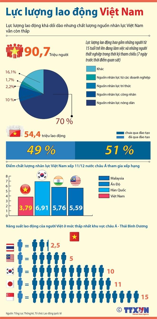 Tổng quan chất lượng nguồn nhân lực tại Việt Nam ảnh 1