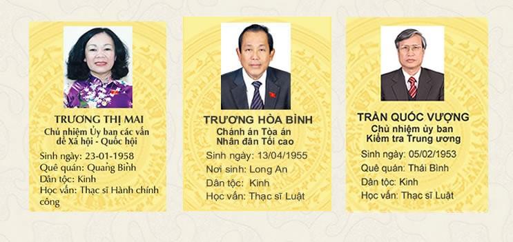 Chân dung Tổng Bí thư và các Ủy viên Bộ Chính trị, Ban Bí thư khóa XII ảnh 4