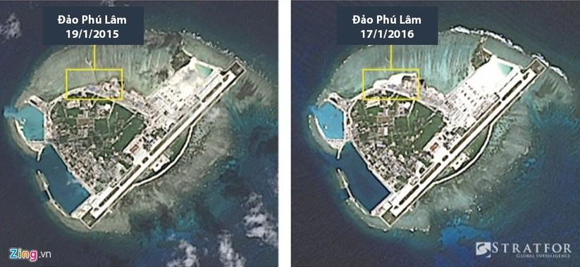 Cận cảnh HQ-9 và cơ sở quân sự phi pháp của TQ ở đảo Phú Lâm ảnh 1