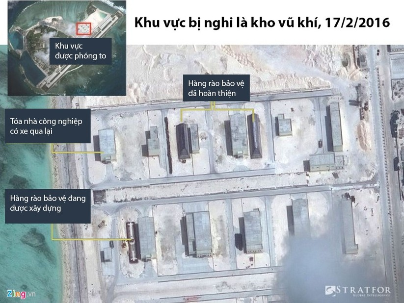 Cận cảnh HQ-9 và cơ sở quân sự phi pháp của TQ ở đảo Phú Lâm ảnh 4